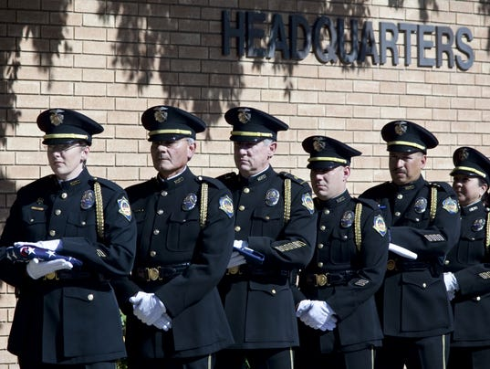 Mesa Police Department's fallen officers