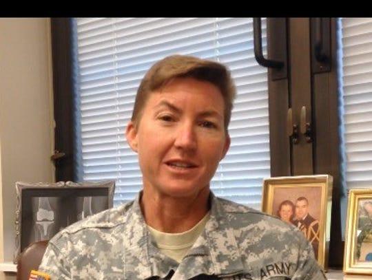 U.S. Army Lt. Col. Beth Behn