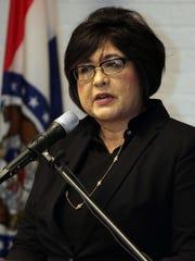 Director of Workforce Development Mary Ann Rojas sepakes