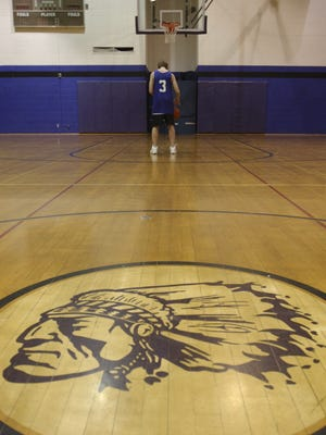 The Mosinee School District no longer uses the image of a Native American, but has retained the nickname Indians.