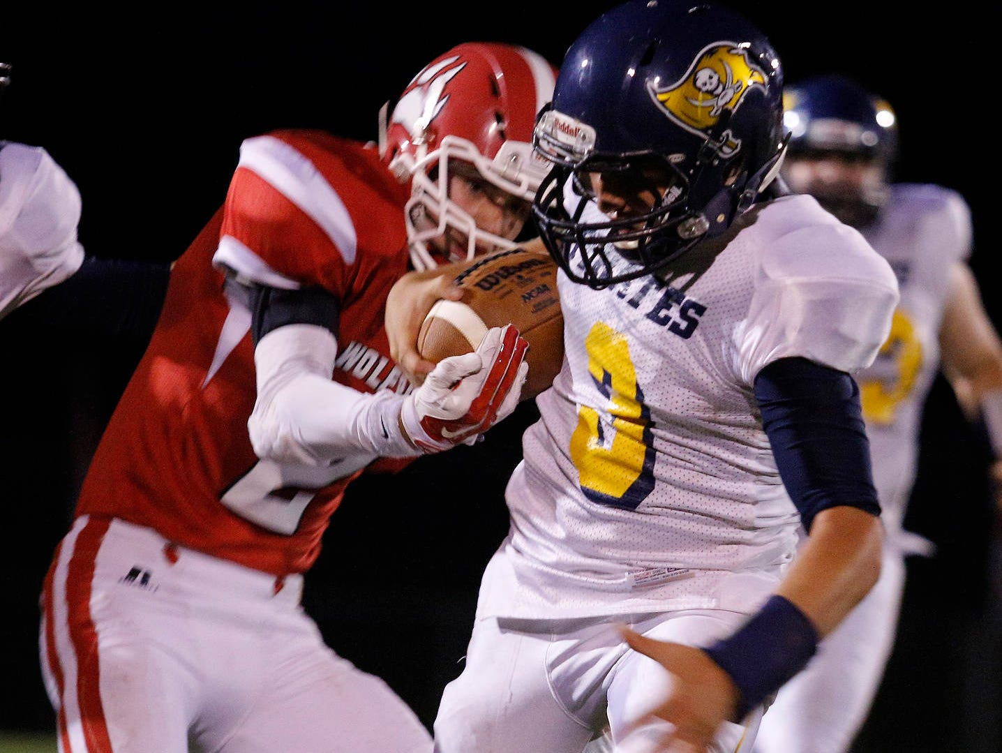 Ryan Smith, right, and Pewamo-Westphalia remain atop the CMAC standings.