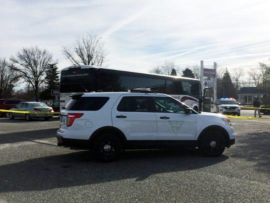 Bus bound for flower show strikes, kills pedestrian