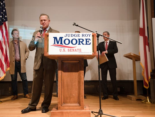 Roy Moore election night party