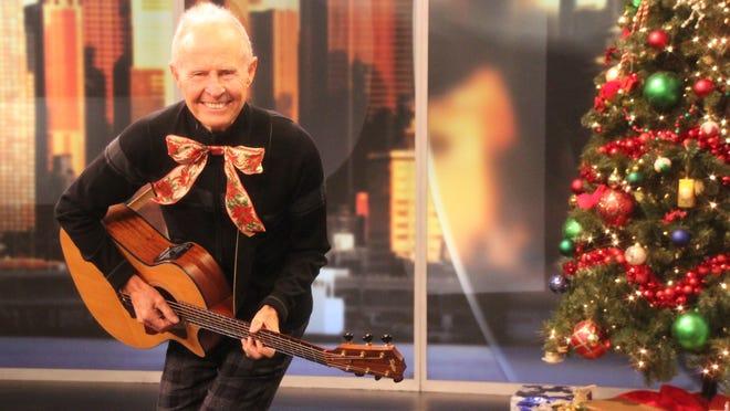 Elmo Shropshire performing at Christmas.