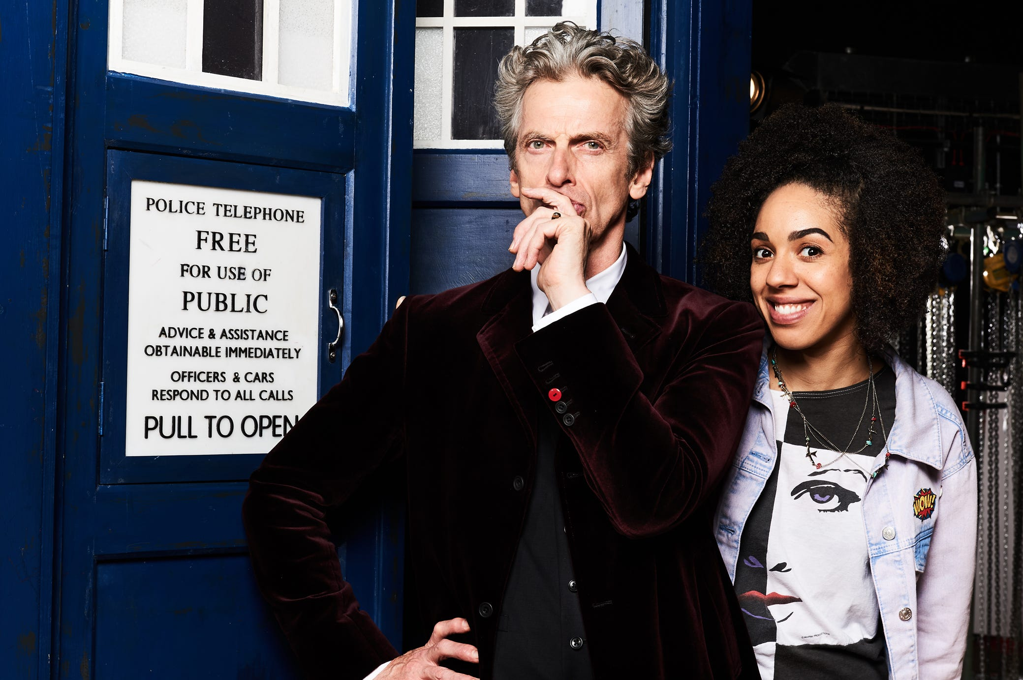 EXCLUSIVE: Doctor Who's Peter Capaldi On Fans, Tennant And Being A Heartthrob photo