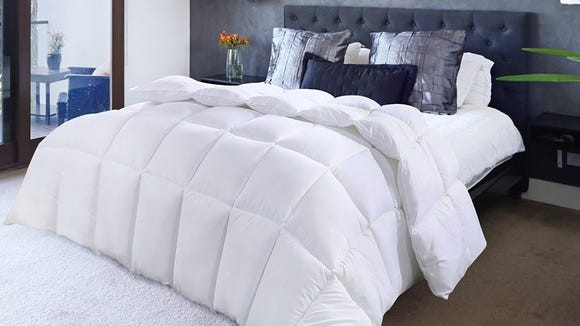 A cozy comforter for the summer.