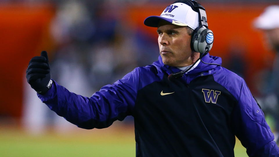 Washington coach Chris Petersen returns to Boise State