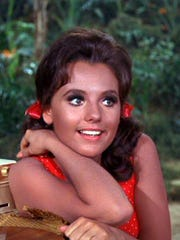 "Dawn Wells as Mary Ann from the '60s TV series ""Gilligan's Island."""