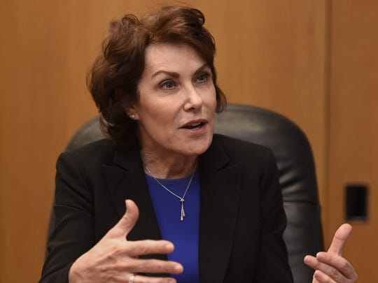Rep. Jacky Rosen, D-Las Vegas, in the Reno Gazette-Journal
