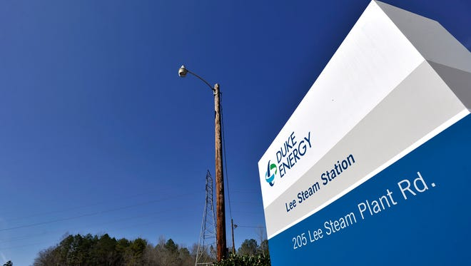 The Duke Energy Lee Steam Station is in Anderson County.