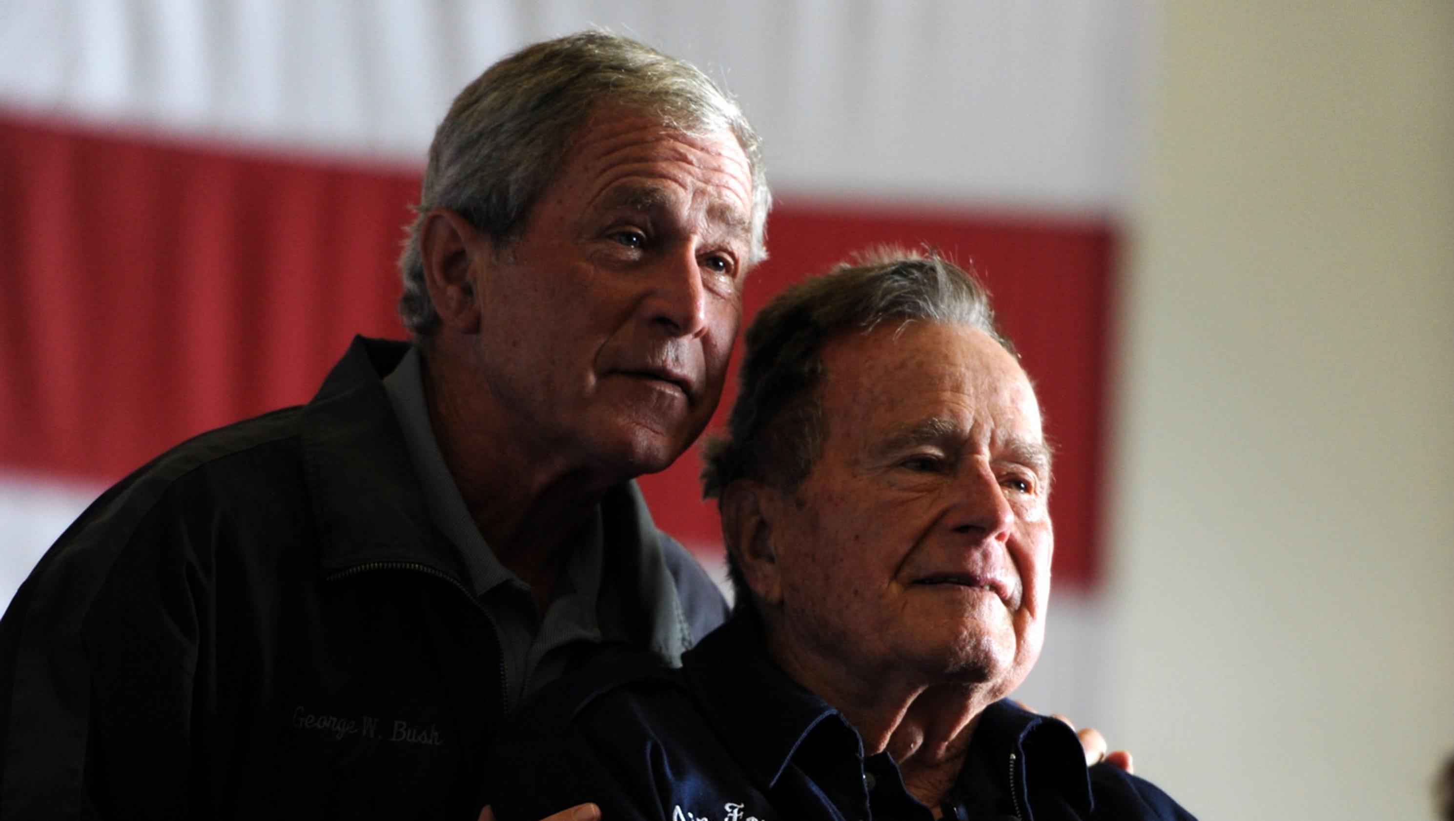 George H W Bush George W Bush Release Statement