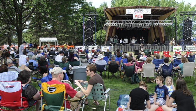 Jam'n'July, a new annual event celebrating music from central Wisconsin, will be held Saturday at Pfiffner Pioneer Park.