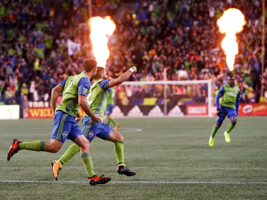 MLS: Western Conference Semifinal-Vancouver Whitecaps at Seattle Sounders