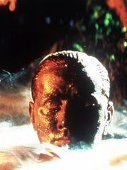 "Martin Sheen as Willard in Francis Ford Coppola's, ""Apocalypse Now Redux."""