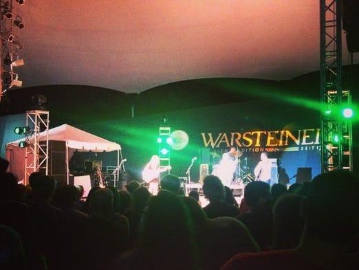 Heartless Bastards play the Warsteiner stage at #bunburyfestival