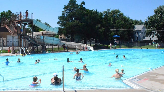 A discussion was held Tuesday about delayed maintenance on the Newton municipal pool.
