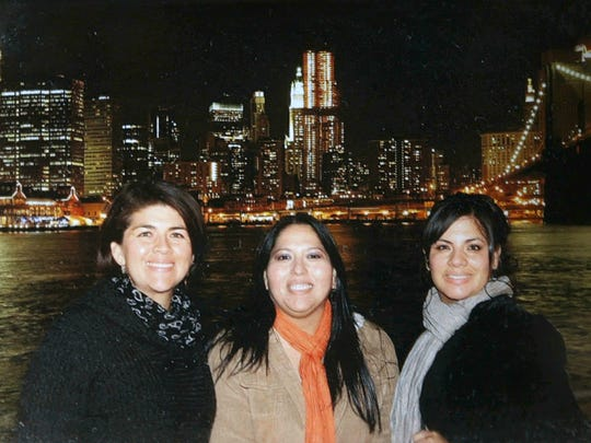 Gabriella Soto, right, died in a car accident four months before her sister, Angelica Soto (far left) and friend Carmen Alegria were among those shot at the Route 91 Harvest Festival in Las Vegas, Nevada. The surviving women say their trip to the country music festival was in part to honor Gabriella, whose death left them heartbroken. (Provided photo)