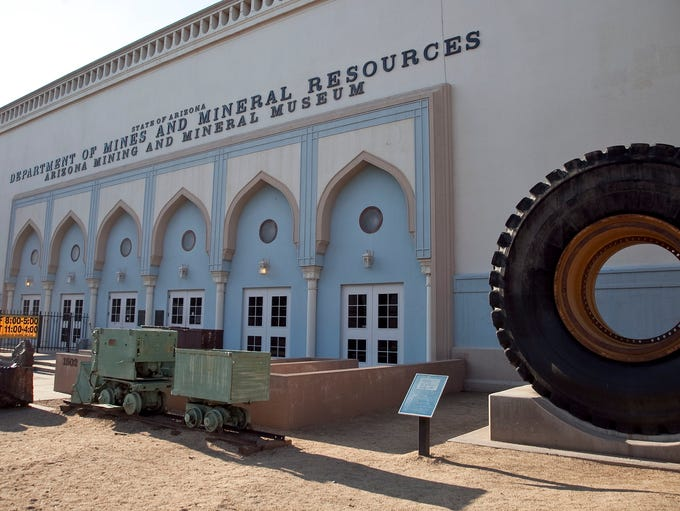The Arizona Mining and Mineral Museum at 1502 W. Washington