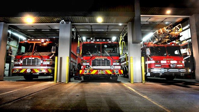 At the Arlington Fire District Headquarters on Burnett Boulevard in Poughkeepsie