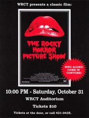 """The Wisconsin Rapids Community Theatre will present """"The Rocky Horror Picture Show"""" at 10 p.m. Oct. 31."""