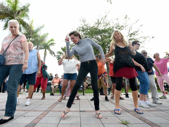 Hundreds gathered for last month's Friday Fest in Fort Pierce.
