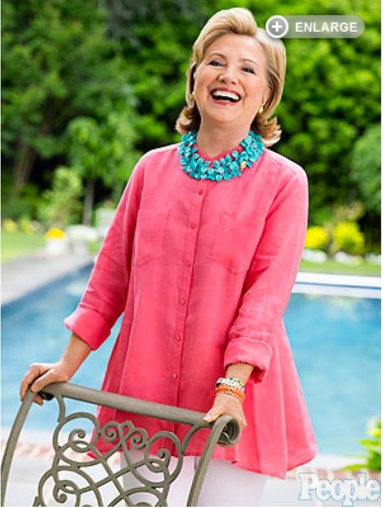 People Magazine interviews Hillary Clinton