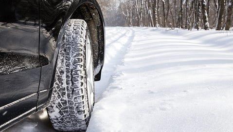 Motorists should prepare for slick roads.