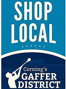 Corning's Gaffer District is up for a national award.