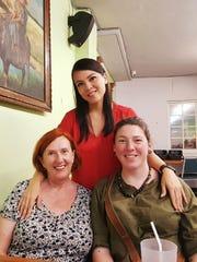 Ramona C. Siblang, at rear, is a great-granddaughter
