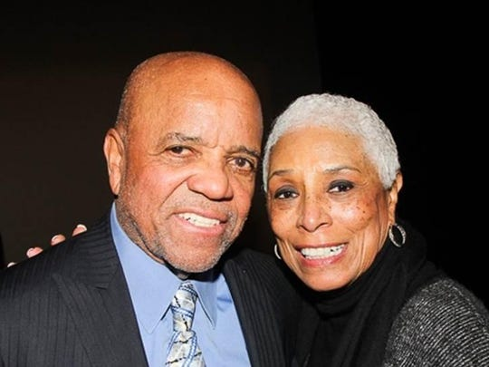 Berry Gordy and Edna Anderson-Owens.