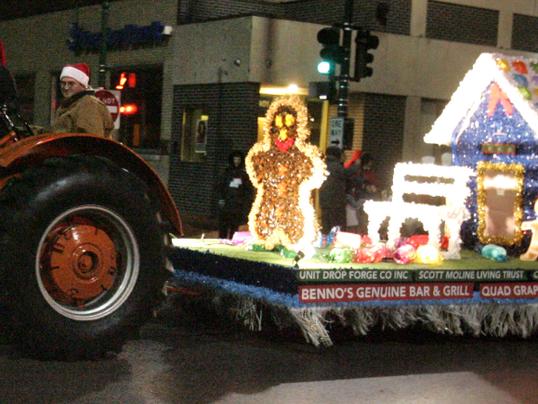 Christmas parade, West Allis