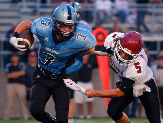 Portland at Lansing Catholic Football