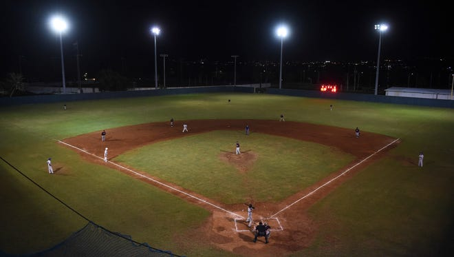 The Yigo Astros faced EMB Rooks in a Guam Major League Baseball game at Paseo Stadium on June 26, 2018.