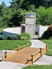 There will be a re-dedication ceremony for the Kain Memorial, at 2 p.m. Sunday. May 22nd.