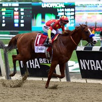 Justify rolls in the Belmont Stakes, wins Triple Crown. So what's next?