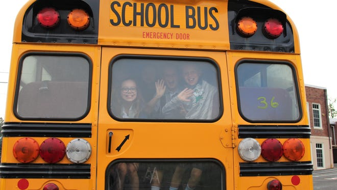 There were smiling faces as Warren Township Schools welcomed back students and staff for the start of the new school year.