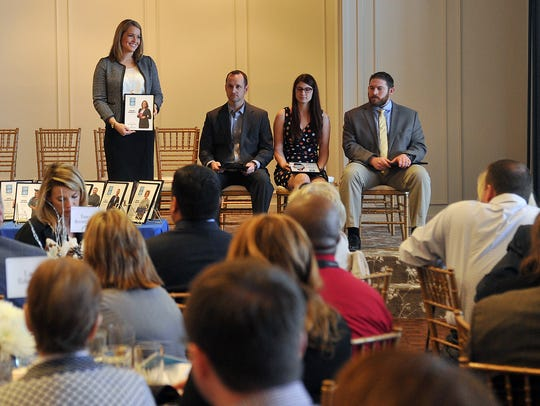 The 20 Under 40 class of 2016 was recognized Tuesday