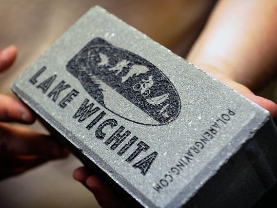 The Lake Wichita Revitalization Committee is kicking of a brick sales campaign to raise money for the Veterans Memorial Plaza at the lake. Bricks come in three sizes - 4x8 with three lines of text, 8x8 with 5 lines of text and 12 with 7 lines of text. A wide variety of icons are also available. For more info, go to lakewichitabricks.org.