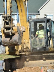 Earthmoving is underway for the construction of a new