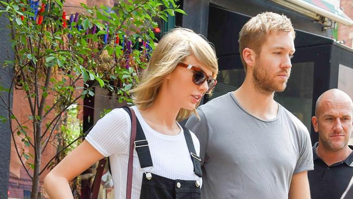 Taylor Swift And Calvin Harris To Strip Down