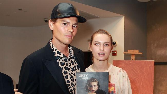 Ian Jones and Tali Lennox