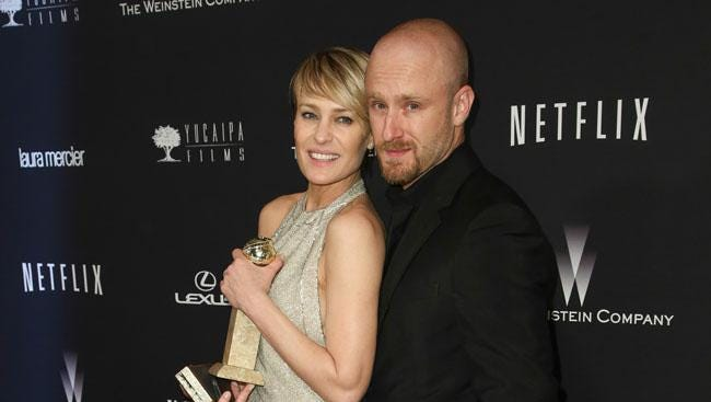 Robin Wright and Ben Foster.