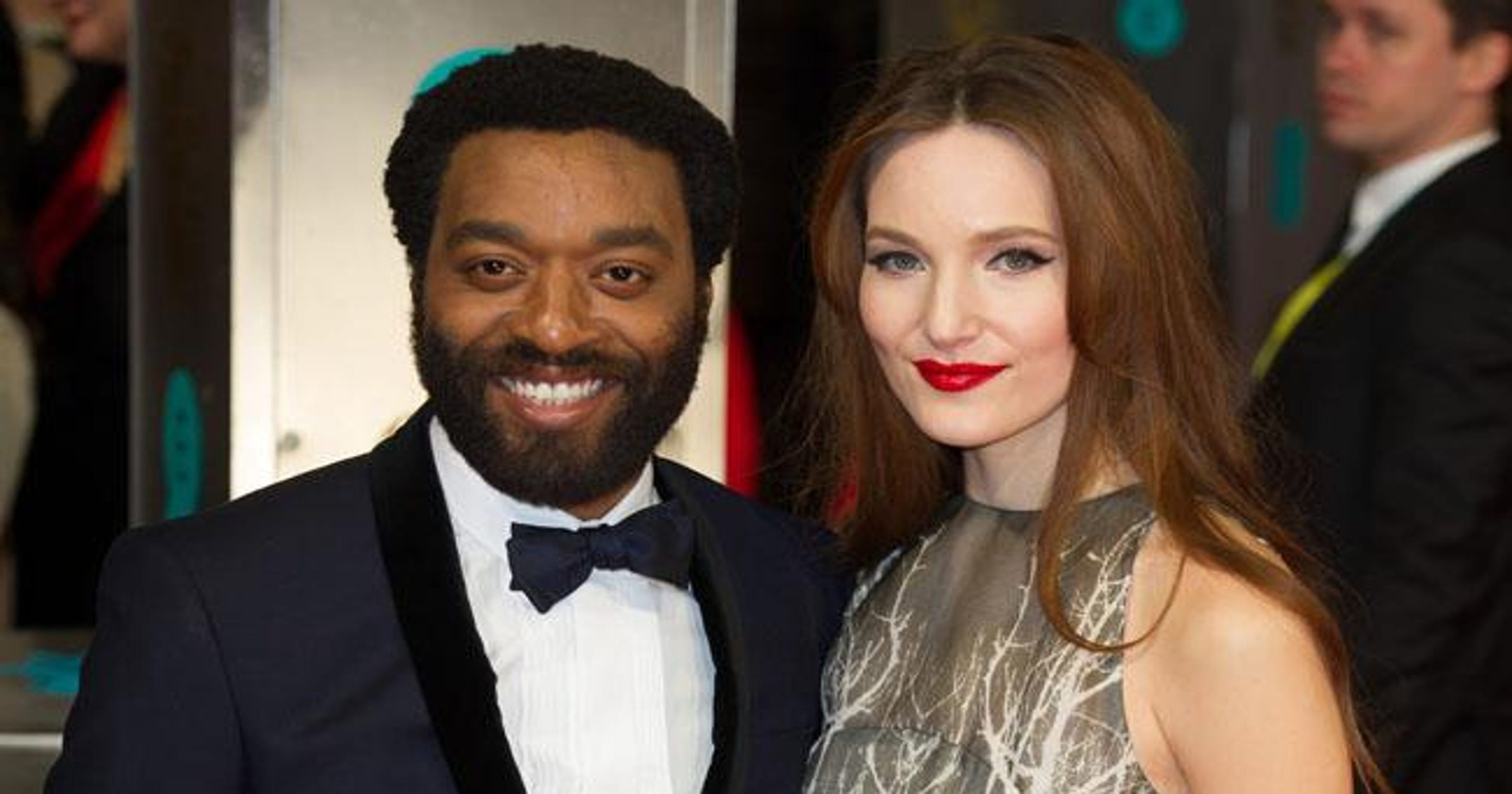 Couple Love - Chiwetel Ejiofor And Girlfriend Sari Mercer |Chiwetel Ejiofor Married
