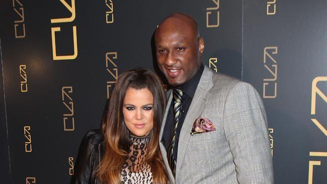 Khloe and Lamar in 2012