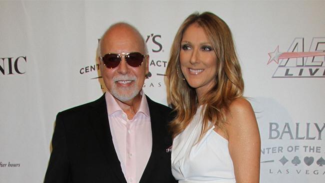 Celine Dion and René Angélil.