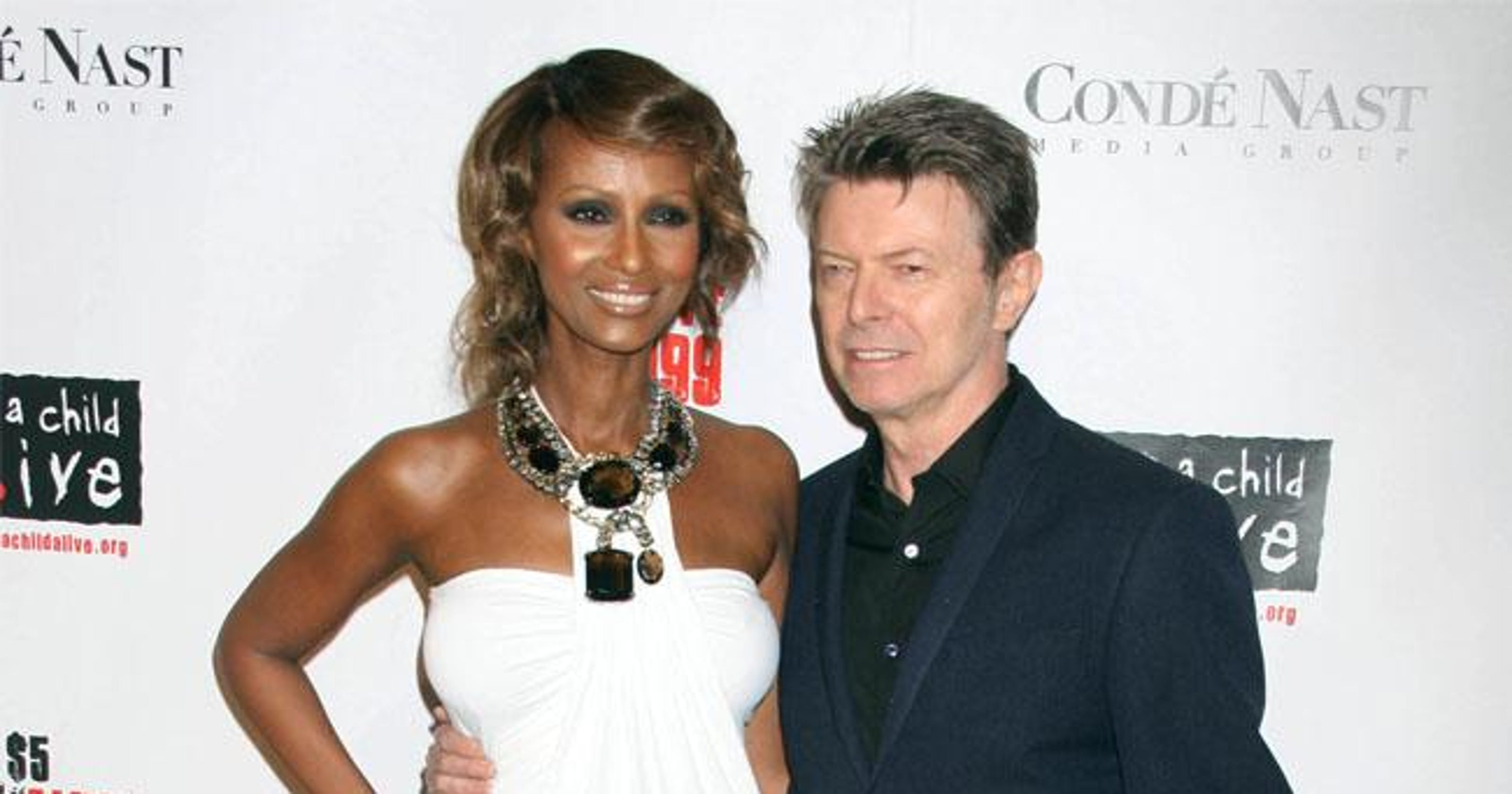 70136a64a953 David Bowie was lonely before falling in love with Iman