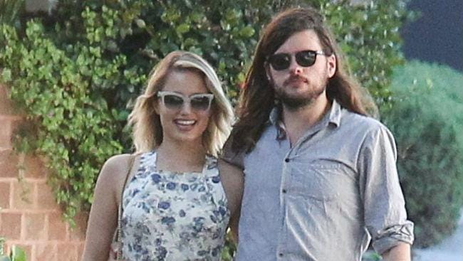 Dianna Agron and Winston Marshall