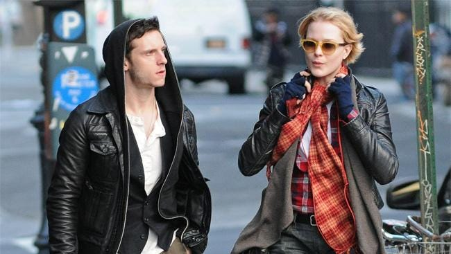 Jamie Bell and Evan Rachel Wood