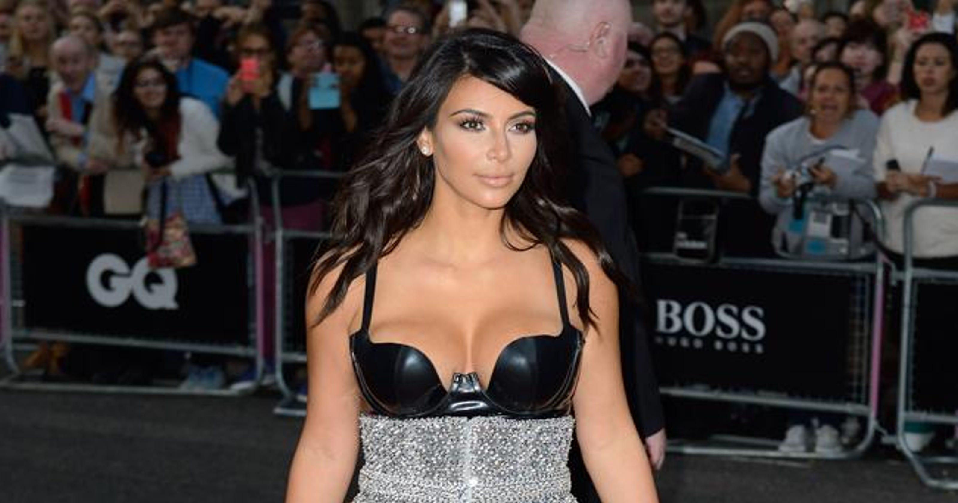 Kim Kardashian Wests Naked Photos Leaked Online
