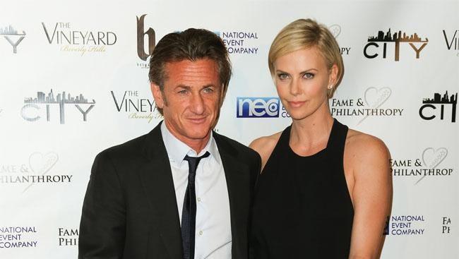 Sean Penn and Charlize Theron